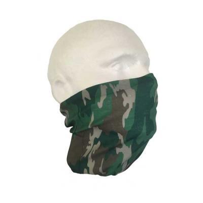 Camouflage Neck Tube Bandana x2