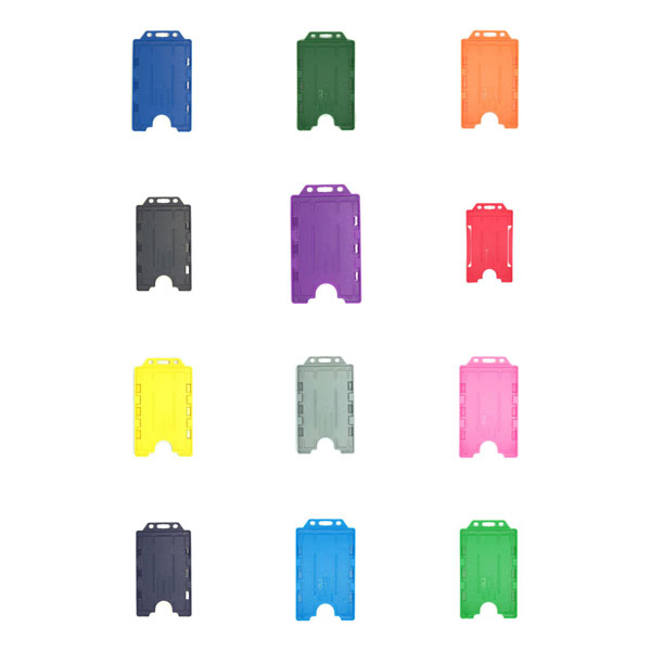 Antimicrobial ID Card Holders