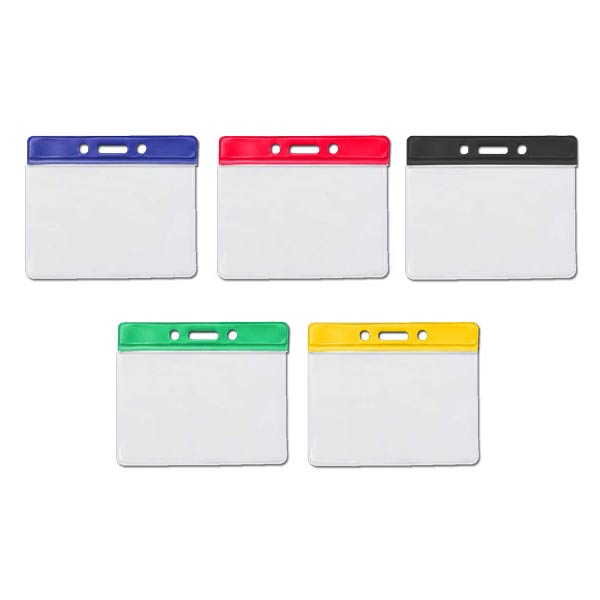 Coloured PVC ID Wallets