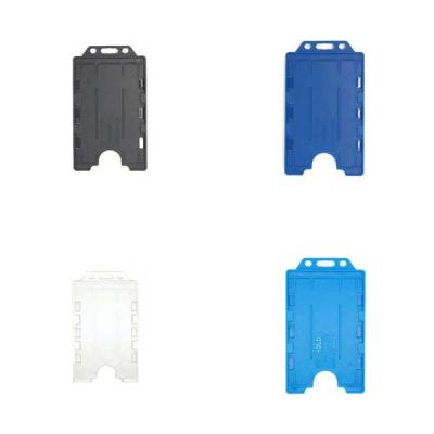 Portrait Double ID Card Holder x10
