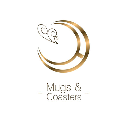 Mugs & Coasters Logo
